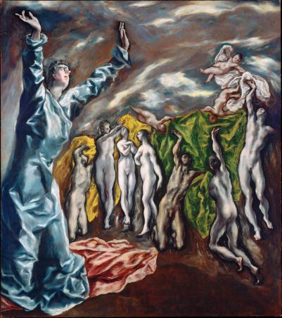 El Greco 5th Seal 1610