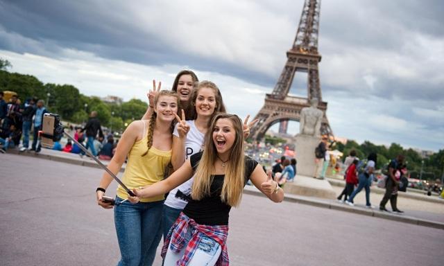 Selfie Eifel Tower
